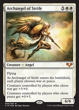 Magic: the Gathering - Archangel of Strife - From the Vault: Angels - Foil by Magic: the Gathering
