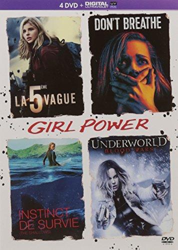 Girl Power - Coffret : La 5ème vague + Don't Breathe + Instinct de survie + Underworld : Blood Wars [DVD + Copie digitale]