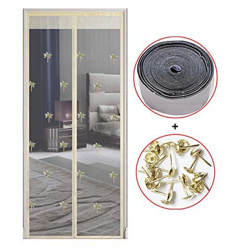 Xervg Screen Mesh voor Deur Anti-muggen magnetische deur gordijn woonkamer balkon slaapkamer