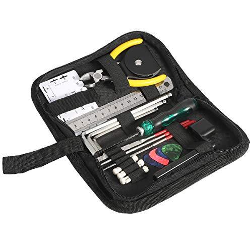Syuantech Kit de Herramientas de Reparación de Guitarra Herramientas de Mantenimiento con...