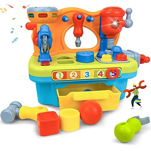 EastSun Baby Tool Werkbank Spielzeug für Kleinkinder