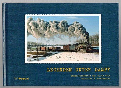Legenden unter Dampf: Mit acht exklusiven Briefmarken à 55 Cent (Technik)