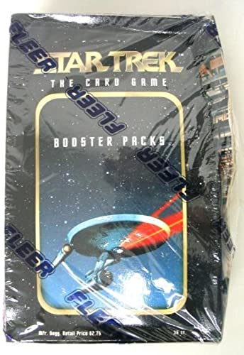 increíbles descuentos Star Trek The The The Card Game Booster Pack Box by Fleer Skybox  Esperando por ti