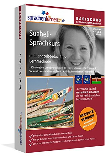 Sprachenlernen24.de Suaheli-Basis-Sprachkurs: PC CD-ROM für Windows/Linux/Mac OS X + MP3-Audio-CD für MP3-Player. Suaheli lernen für Anfänger