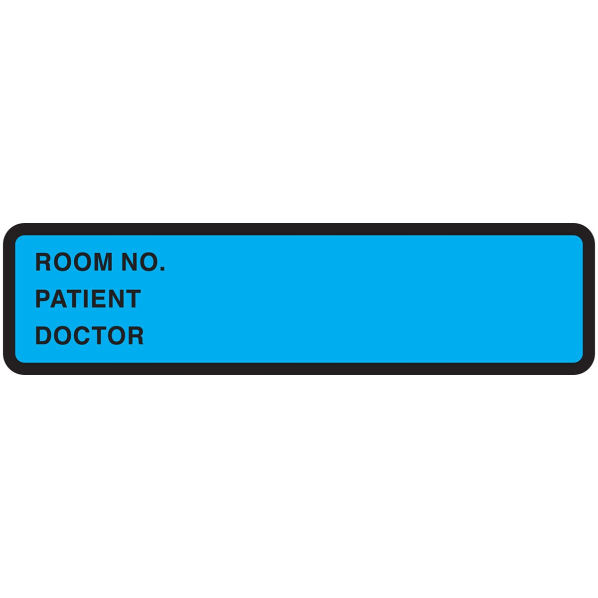 PDC Miami Mall Healthcare 59704843 Binder Chart Room Label Removable Paper Limited time trial price