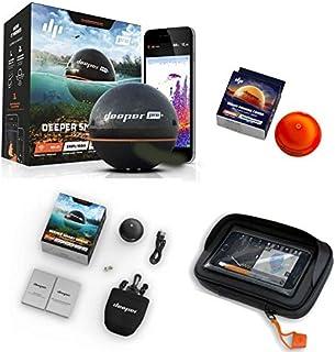 Deeper Smart Sonar Pro + Plus Set WiFi + GPS + Night Fishing Cover + Case XL