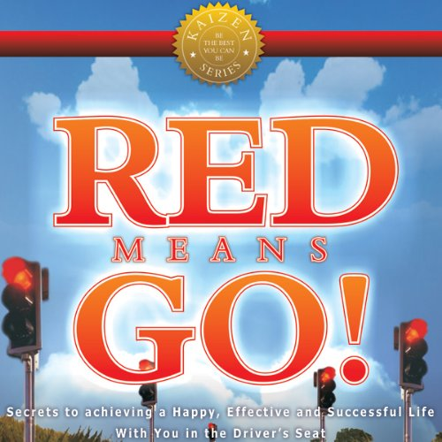 Red Means Go! audiobook cover art