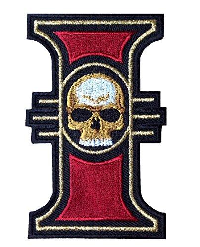 Titan One Europe - Inquisition Logo 40000 World Order Emblem Patch Iron On Aufnäher Aufbügler Motorrad Patch