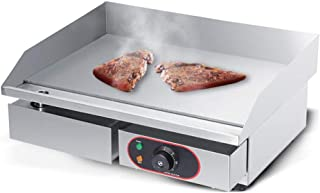 3KW Dry Pot Countertop Commercial Grill Cooking, Adjustable Temperature Control 50℃-300℃, Bacon Omelette Oven