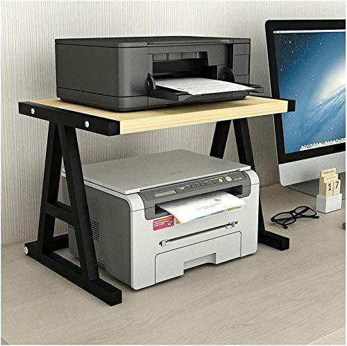 Stampante Desktop Stands Stand desktop Stand per Stampante Desktop Scaffale per Space Organizer Storage Shelf, scaffale per libri, vassoio doppio livello per mini stand stampanti stampanti 3D FANJIANI