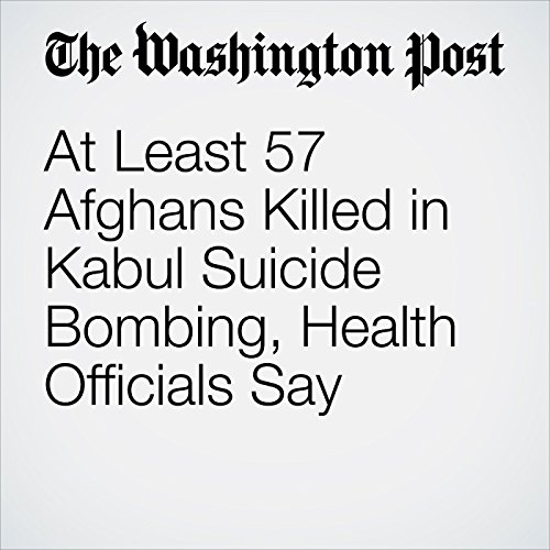 At Least 57 Afghans Killed in Kabul Suicide Bombing, Health Officials Say copertina