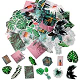 <span class='highlight'><span class='highlight'>nuoshen</span></span> 60 Pcs Tropical Plants Stickers, Self-Adhesive Ephemera Pack for Wall Window Scrapbook Letters Notebook Card Making DIY (Plants Stickers)