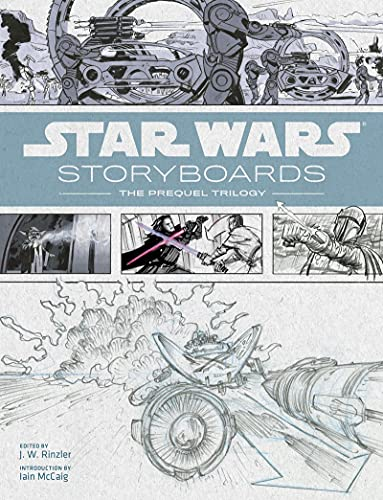 Abrams & Chronicle Books Wars Storyboards: The Prequel Trilogy 7728 mehrfarbig (Star Wars)