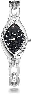 Women Watch, Luxury Women Bracelet Alloy Strap Geometric Dial Fashion Dress Wristwatch Ladies Quartz Watches