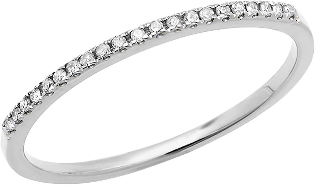 Dazzlingrock Collection 0.10 Carat Time sale ctw 10K White Di Round famous Gold