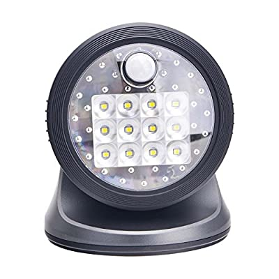 Light It! by Fulcrum Indoor Outdoor 12 LED Wireless Motion Sensor Light