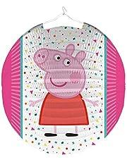Amscan 9907262 - Farolillo de Papel (25 cm), diseño de Peppa Pig