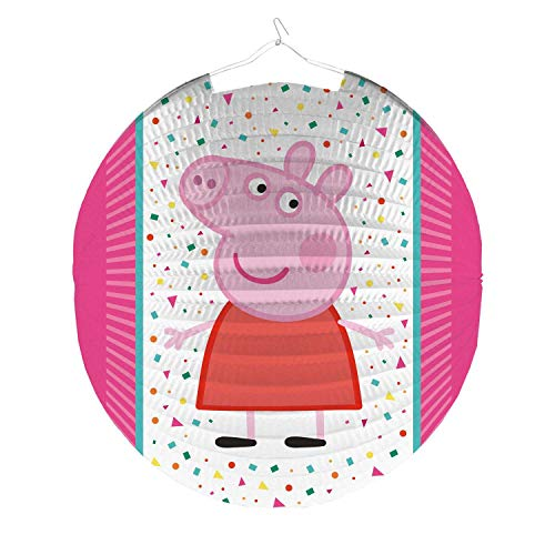 amscan 9907262 Dekoration Lampion Peppa Pig Papier