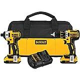 DEWALT 20V MAX XR Cordless Drill Combo Kit, 2-Tool (DCK281D2)
