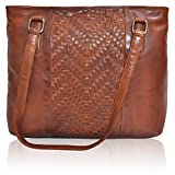 Tote Bag for Women with Zipper - Travel, Work, Leather Over the Shoulder Purses