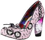 Irregular Choice Damen Rocko Pumps, Pink (Pink F), 43 EU