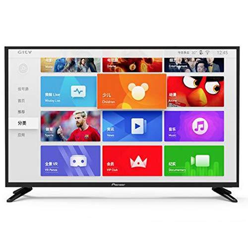 Household appliances Televisor LCD LED Full HD de 46 Pulgadas, Smart Network TV con WiFi y Pantalla de proyección, Smart TV Android Compatible con VGA, Interfaz S-Video, USB, AV, HDMI