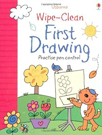 Wipe-Clean First Drawing by Jessica Greenwell(2014-07-01)