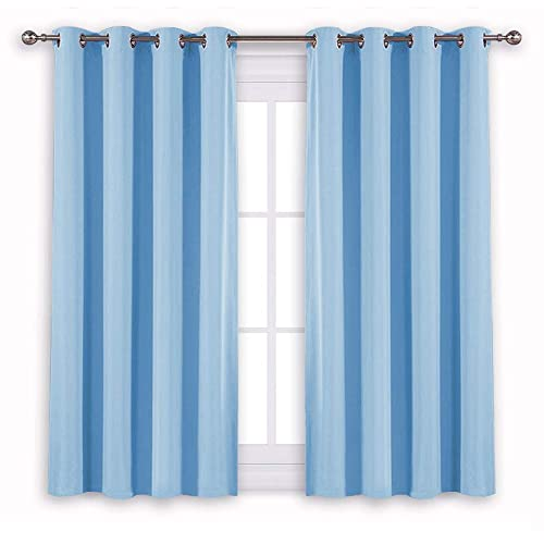 Light Blue Curtains: Amazon.com