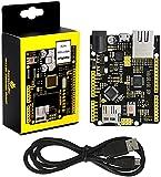 KEYESTUDIO W5500 Placa de Desarrollo de Placa de Control Ethernet para Arduino...