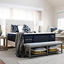Stearns and Foster Lux Estate Hybrid, 15-Inch Luxury Plush Mattress and 9-Inch Foundation, Queen, Hand Built in the USA