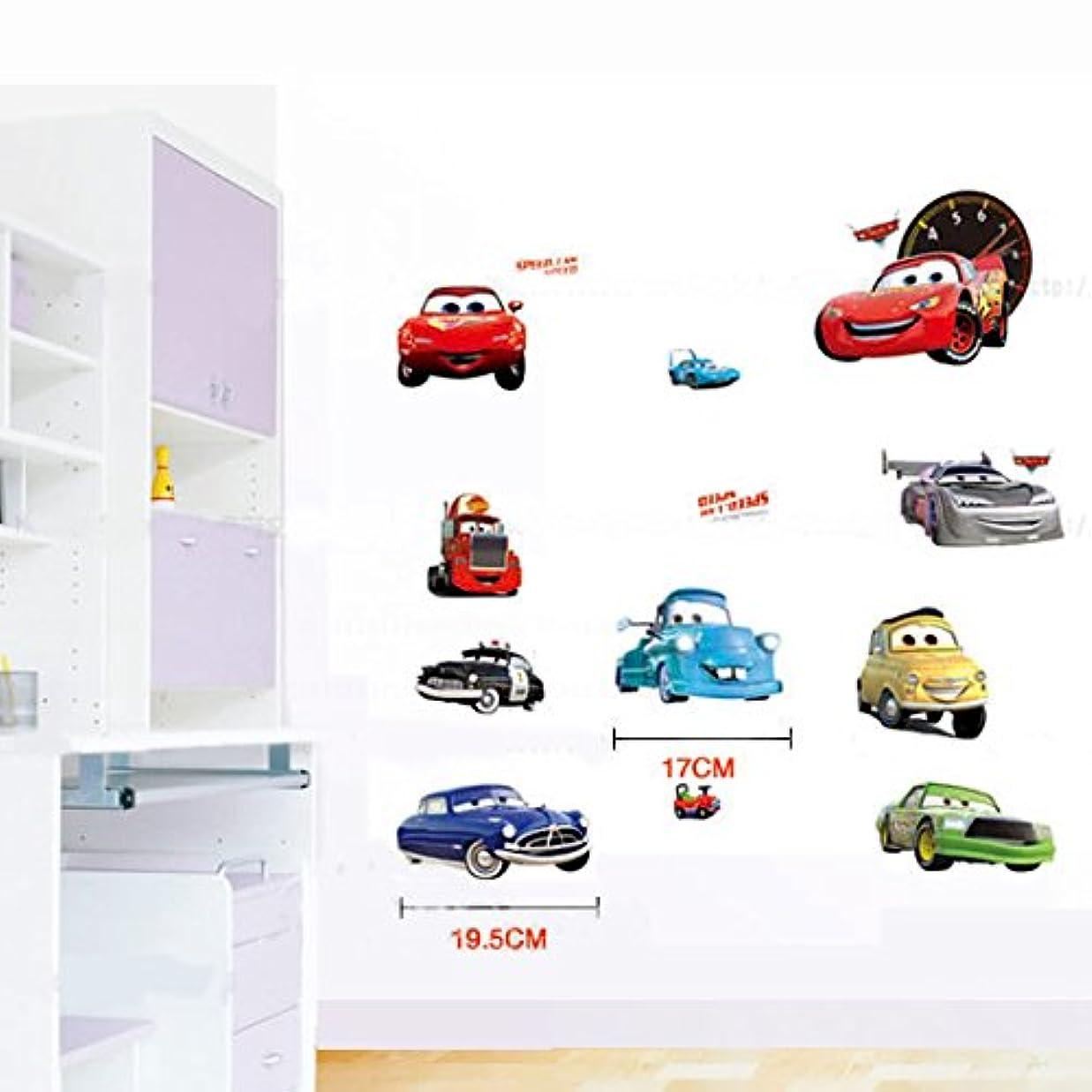 シネマ抜本的な乱暴な【並行輸入品】cars ディズニー カーズ2ウォールステッカー 壁紙シール  子供壁紙シール  / Disney Pixar Cars 2 Alarm Clock - Lightning McQueen