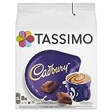 Tassimo Cadbury - Bebida de chocolate caliente - (paquete de 5, total de 40 recipientes, 40 porciones)
