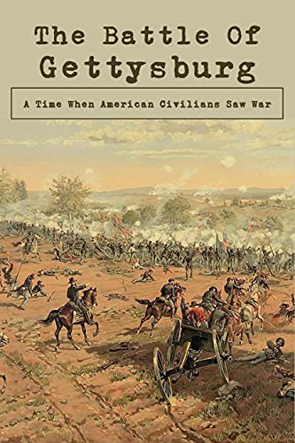 The Battle Of Gettysburg: A Time When American Civilians Saw War: Battle Of Gettysburg Map