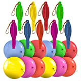 Prextex 36 Punch Balloons in 6 Assorted Colors - 18 Inch Strong Punching Ball Balloons for Indoor or Outdoor Fun or Party Favor