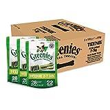 Greenies snack per l'igiene orale per cani di taglia mini  (2-7 kg), confezione da 3 x 170 gr