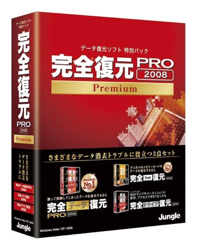億イタリアの事業完全復元PRO 2008 Premium