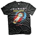 Journey Oficialmente Licenciado Escape Tour -81 Camiseta para Hombre (Negro), X-Large