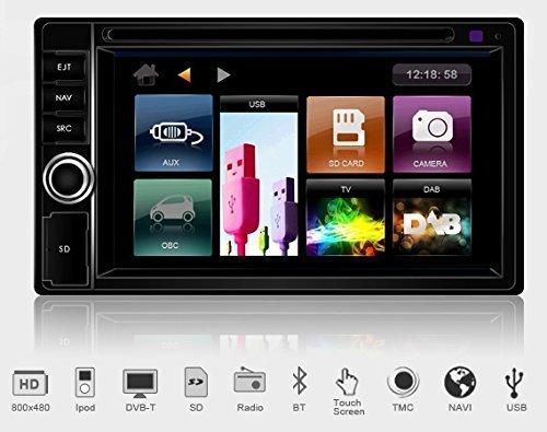 Dynavin DVN-6205 Multimedia Navigation N6 Plattform inkl. Navigationssoftware iGo Primo