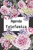 Agenda Telefonica: libreta de direcciones, abecedario A5 17x22, guarda tus direcciones, correos...
