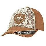 ARIAT Women's Women's Lace Front Cap Hat, Brown, OSFM