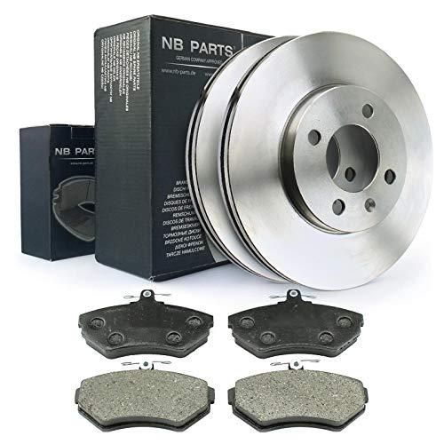 NB Parts Alemania 10038237Juego de frenos delanteros de freno + freno ø256ventilado pastillas de freno VA Kit
