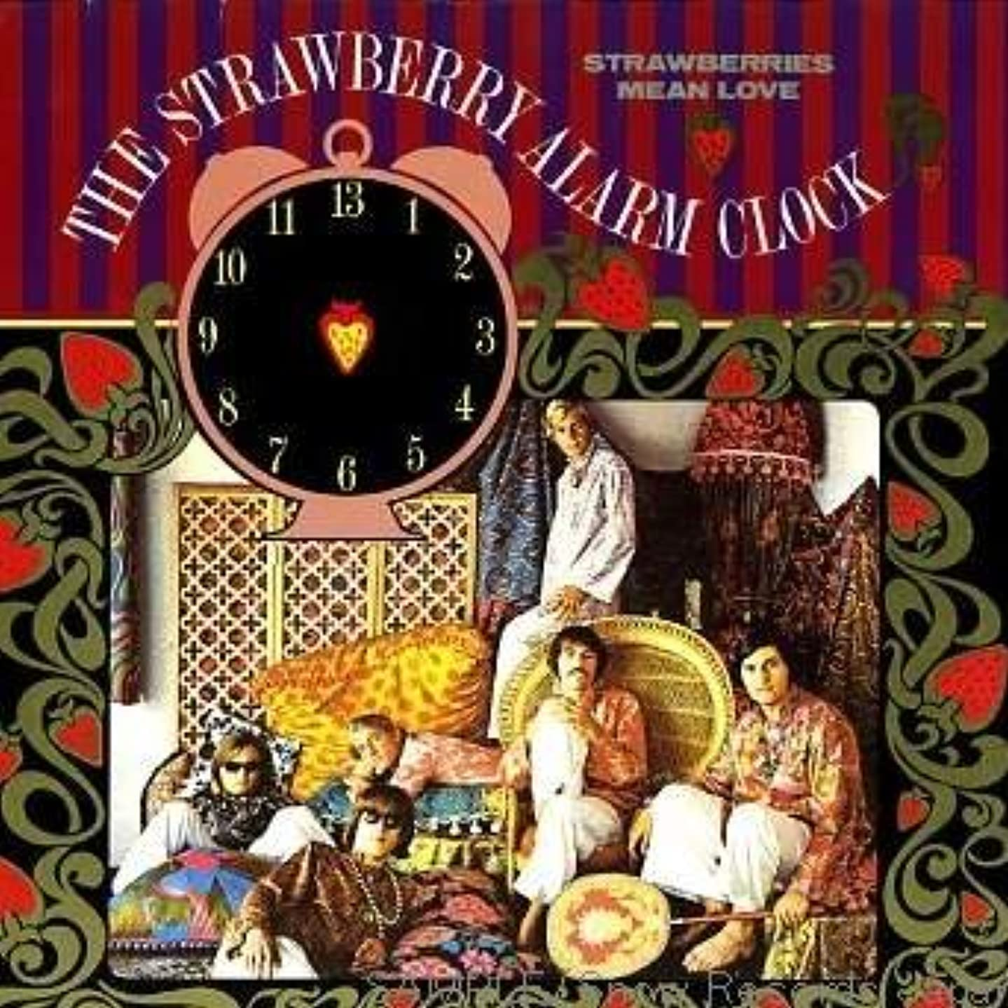 Strawberry Alarm Clock - Strawberries Mean Love - Big Beat Records - WIK 56