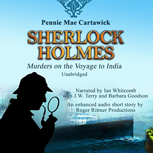 Sherlock Holmes: Murders on the Voyage to India audiobook cover art