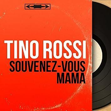 Souvenez-vous mama (feat. Pierre Spiers et son orchestre) [Mono Version]