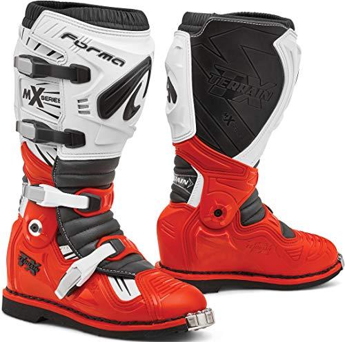 Forma Terrain TX 2.0 Motocross Stiefel Rot/Weiß 42