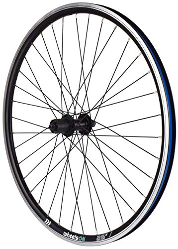 wheelsON QR 26 inch Rear Wheel 7/8/9 speed Hybrid/Mountain Bike Double Wall 36h Black Rim Brake