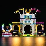 LIGHTAILING Set di Luci per (Friends La Gara di Equitazione di Stephanie) Modello da Costruire - Kit Luce LED Compatibile con Lego 41367 (Non Incluso nel Modello)