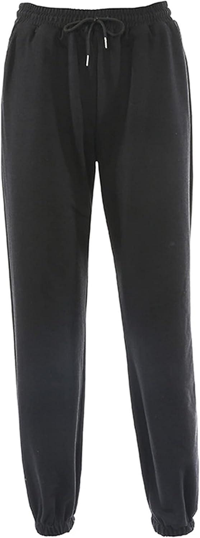 Women 's Casual Pants Beam Feet Fleece Trousers Fashion Solid Color Elastic High Waist Long Pants