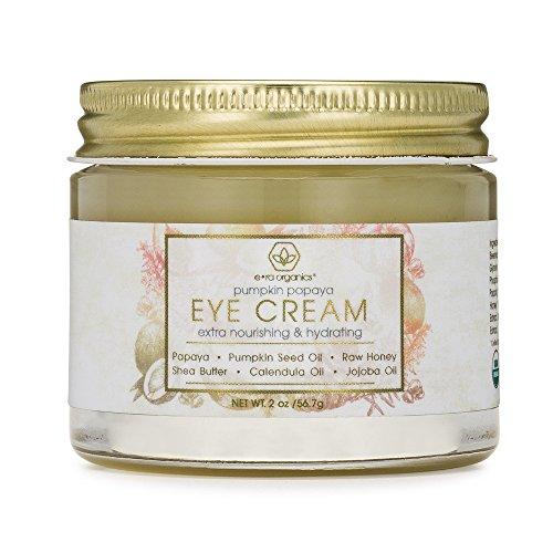 Rejuvenating Eye Cream Extra Nourishing & Moisturizing USDA Organic Anti Aging Eye Treatment Balm for Dark Circles, Under Eye Bags, Puffiness & Wrinkles with Jojoba Oil, Argan Oil & More Era-Organics