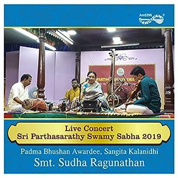 Live Concert - Sri Parthasarathy Swamy Sabha 2019